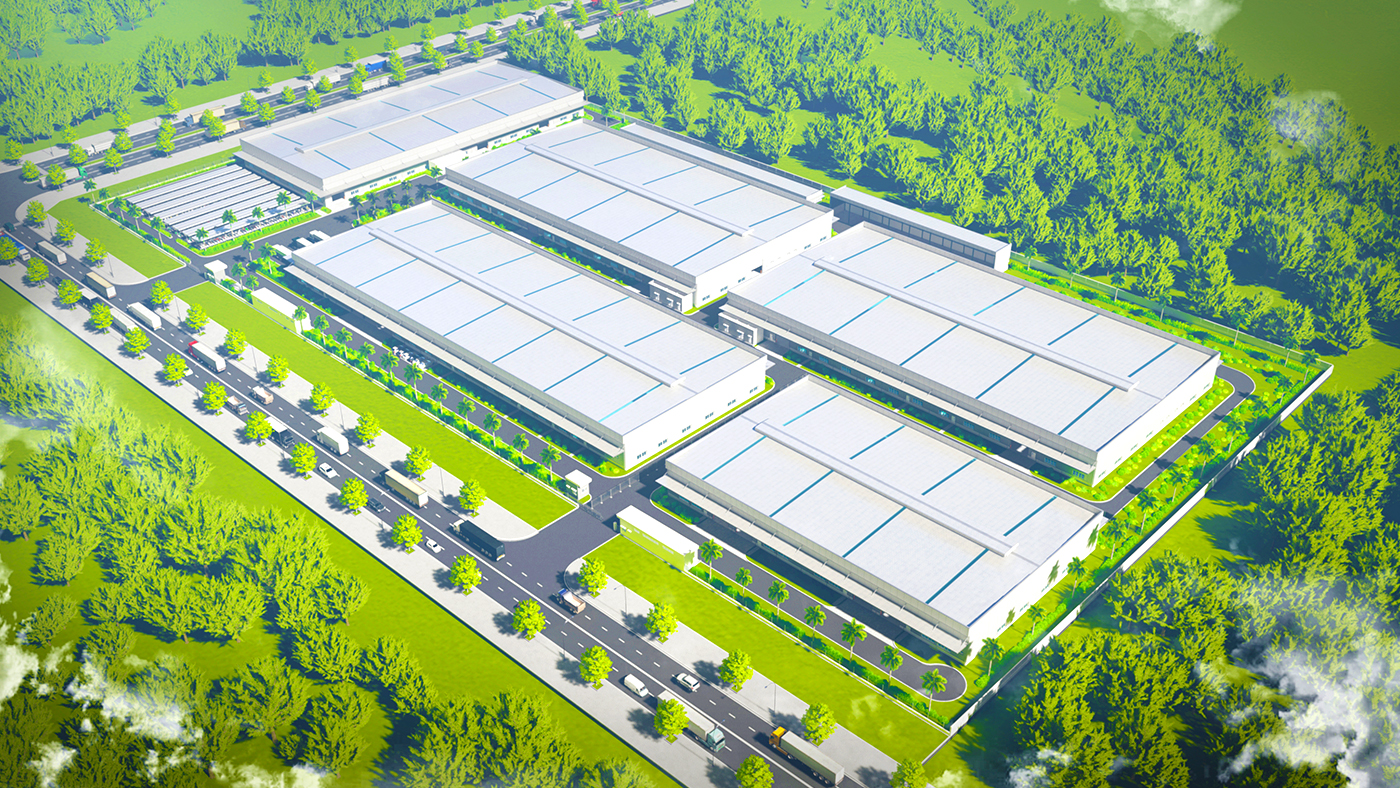 Built Factories for Lease on 6 ha